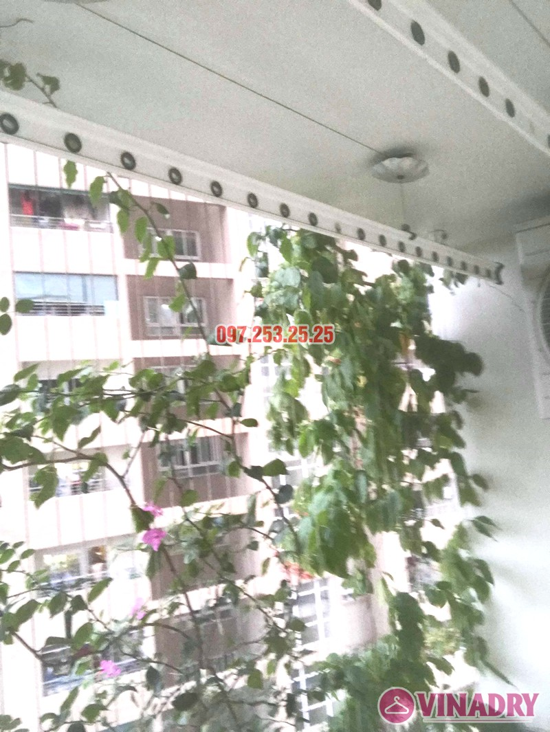 Sửa giàn phơi thông minh tại Hoàng Mai nhà anh Hòa, tòa CT2A, chung cư Nam Đô complex - 06