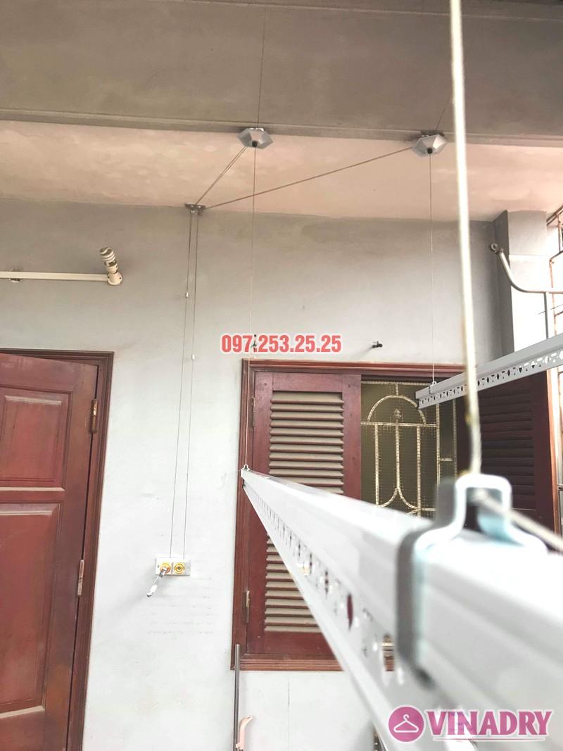 Diện mạo giàn phơi giá rẻ HP99B lắp tại trần mái tôn nhà chú Bản - 01