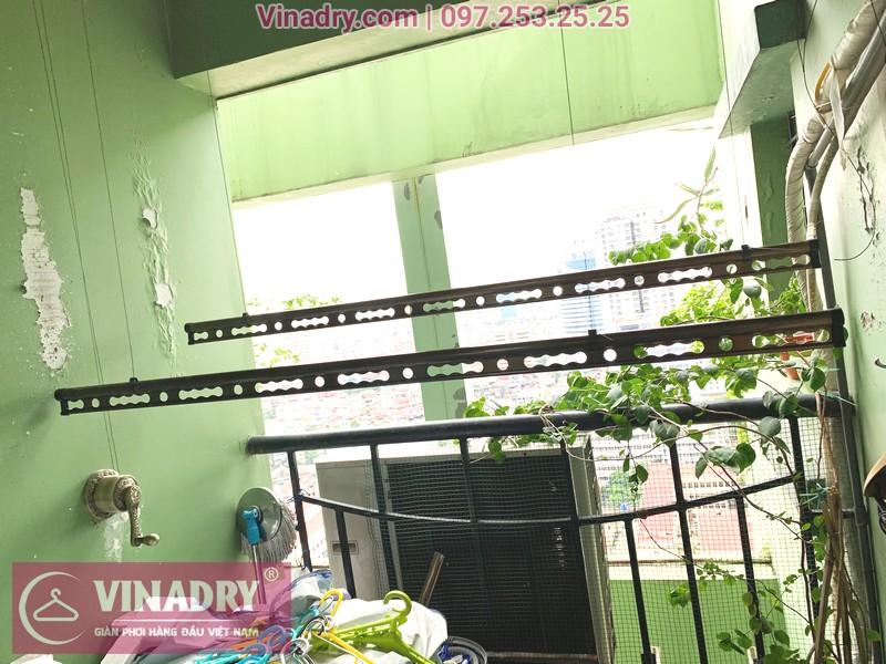 Cận cảnh mẫu giàn phơi thông minh Vinadry GP941 tại nhà chị Tiên, Đống Đa, Hà Nội - 01