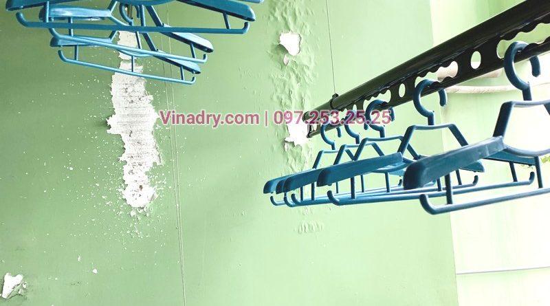 Cận cảnh mẫu giàn phơi thông minh Vinadry GP941 tại nhà chị Tiên, Đống Đa, Hà Nội - 03