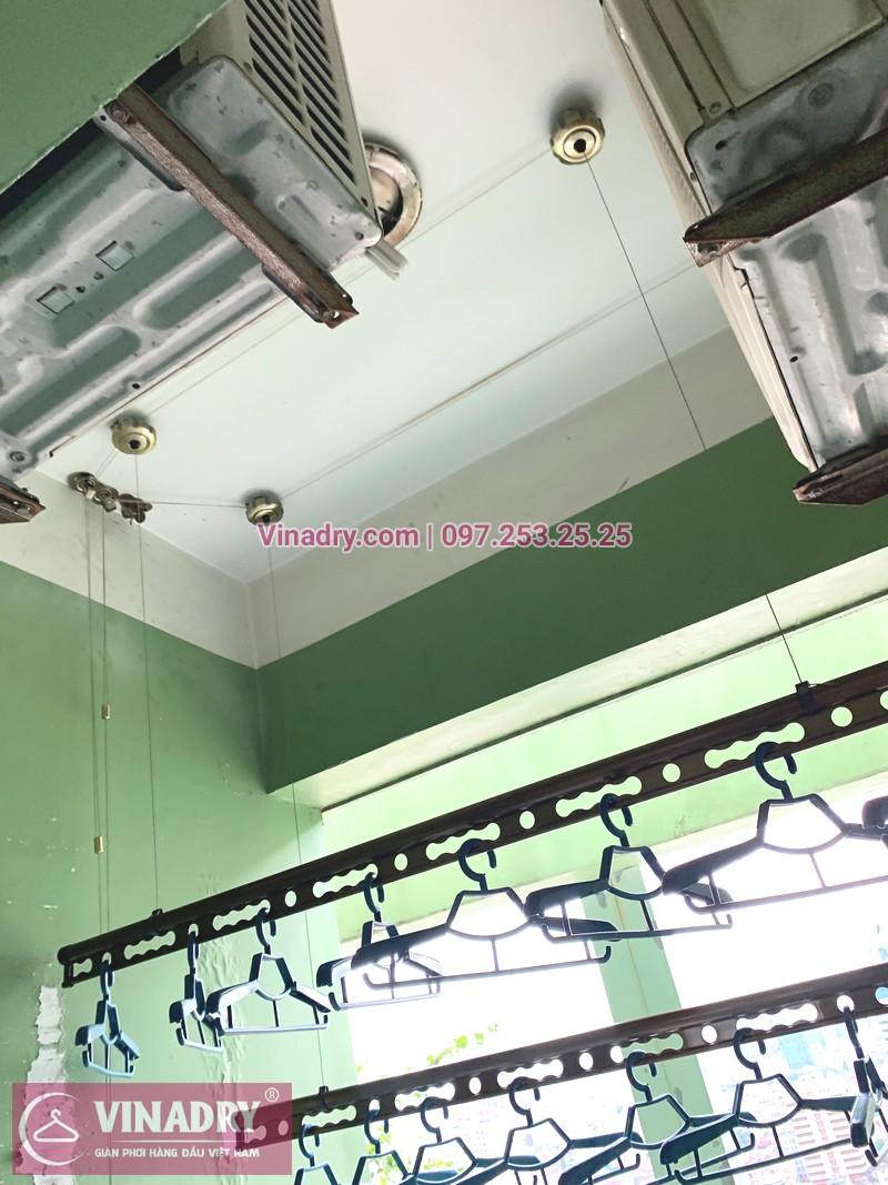 Cận cảnh mẫu giàn phơi thông minh Vinadry GP941 tại nhà chị Tiên, Đống Đa, Hà Nội - 05