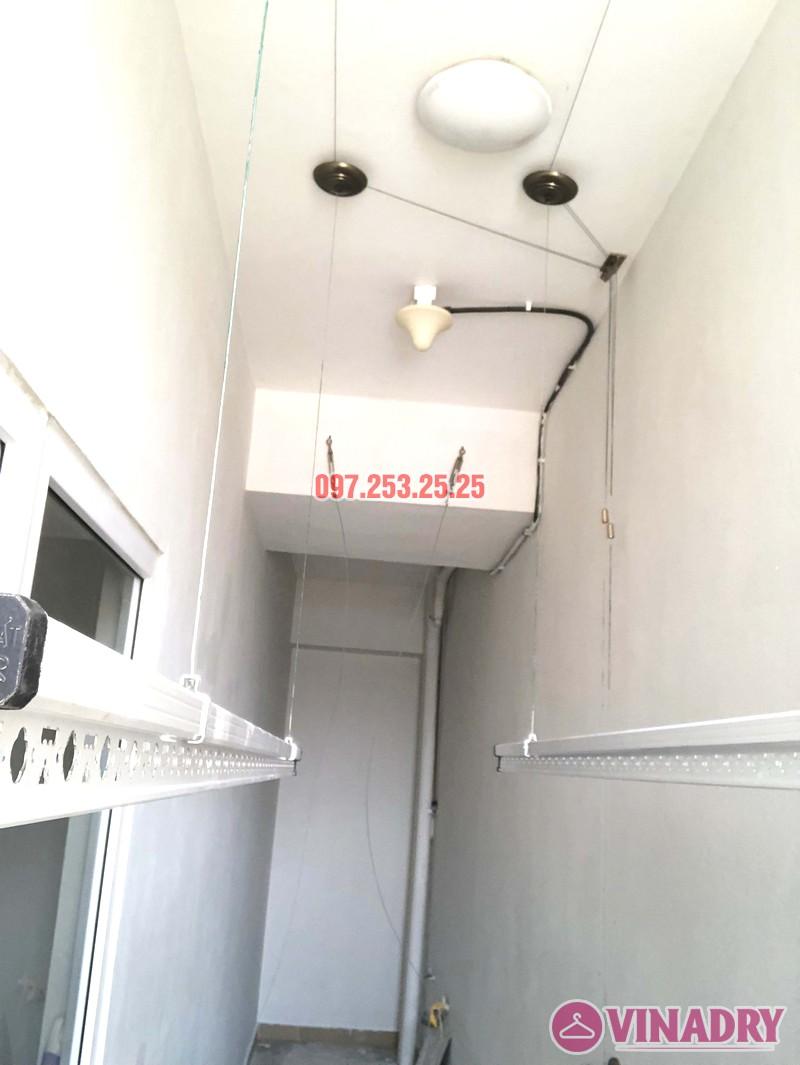 Lắp giàn phơi giá rẻ Hòa Phát Star HP702 tại chung cư V1 Victoria Văn Phú, Hà Đông - 03