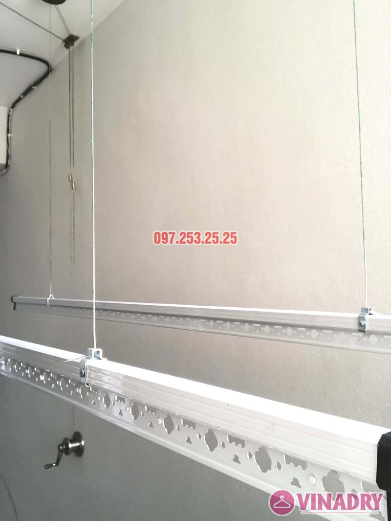 Lắp giàn phơi giá rẻ Hòa Phát Star HP702 tại chung cư V1 Victoria Văn Phú, Hà Đông - 04