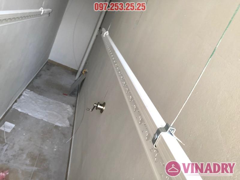 Lắp giàn phơi giá rẻ Hòa Phát Star HP702 tại chung cư V1 Victoria Văn Phú, Hà Đông - 07