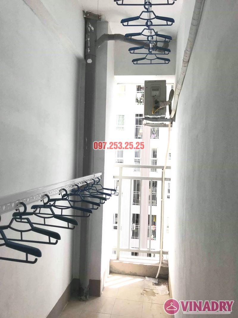 Hình ảnh giàn phơi giá rẻ Hp701 lắp tại lô gia chung cư AZ Sky Định Công - 05
