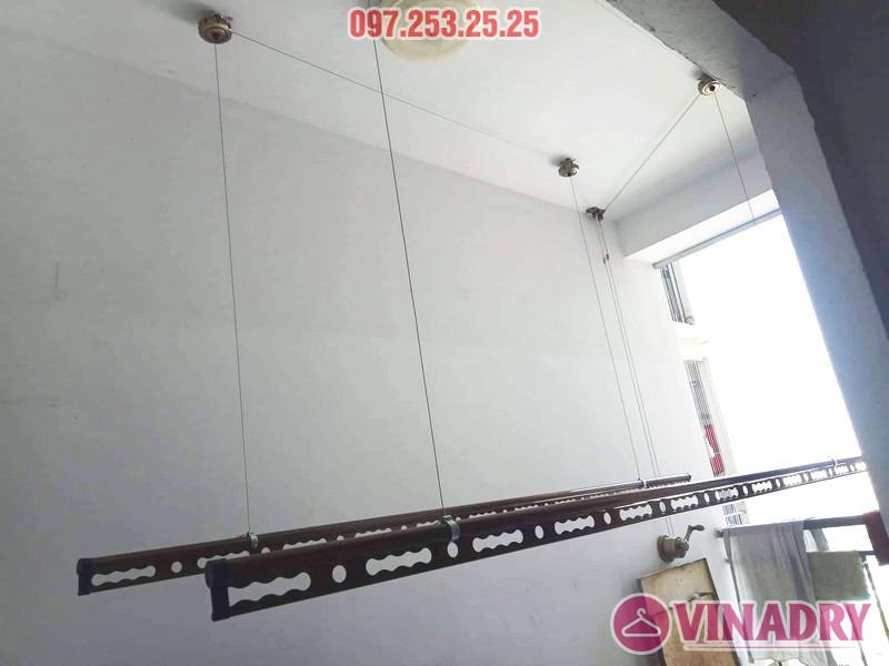 Giàn phơi Vinadry GP941 sang trọng, bền bỉ lắp tại chung cư 87 Lĩnh Nam nhà anh Tặng - 01