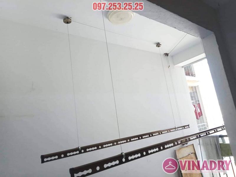 Giàn phơi Vinadry GP941 sang trọng, bền bỉ lắp tại chung cư 87 Lĩnh Nam nhà anh Tặng - 02