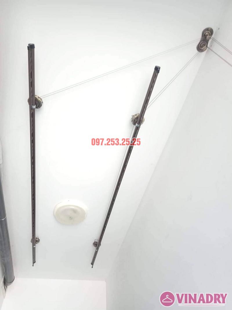 Giàn phơi Vinadry GP941 sang trọng, bền bỉ lắp tại chung cư 87 Lĩnh Nam nhà anh Tặng - 03