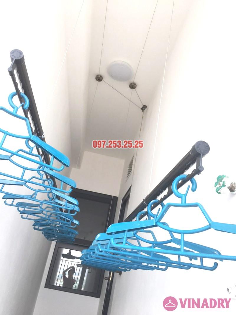 Lắp giàn phơi Vinadry GP941 tại chung cư Hateco Xuân Phương nhà chị Thắm - 01