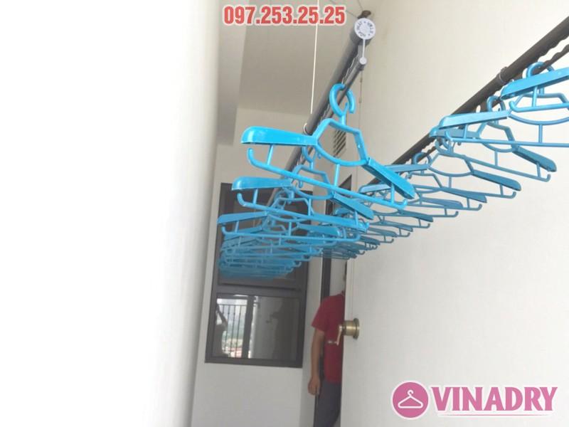 Lắp giàn phơi Vinadry GP941 tại chung cư Hateco Xuân Phương nhà chị Thắm - 03