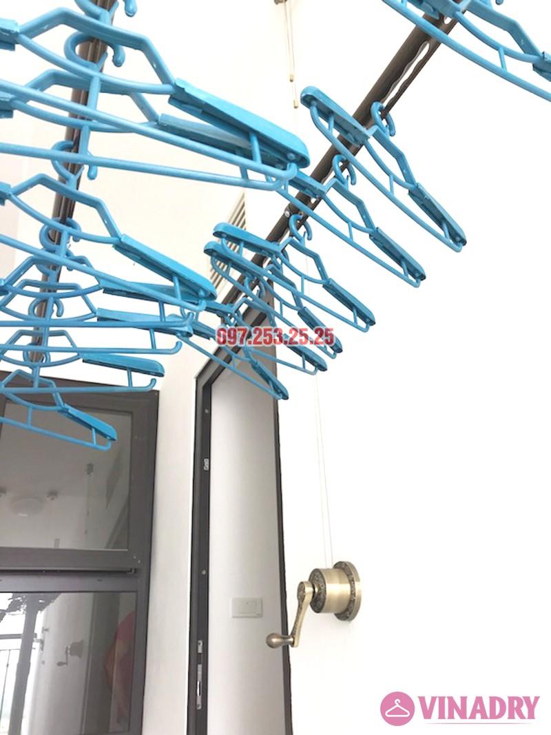 Lắp giàn phơi Vinadry GP941 tại chung cư Hateco Xuân Phương nhà chị Thắm - 05