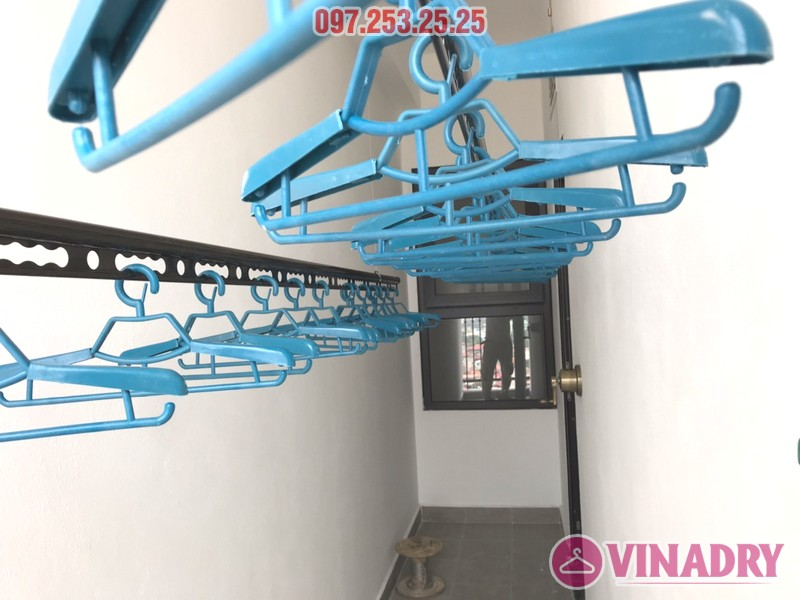 Lắp giàn phơi Vinadry GP941 tại chung cư Hateco Xuân Phương nhà chị Thắm - 08