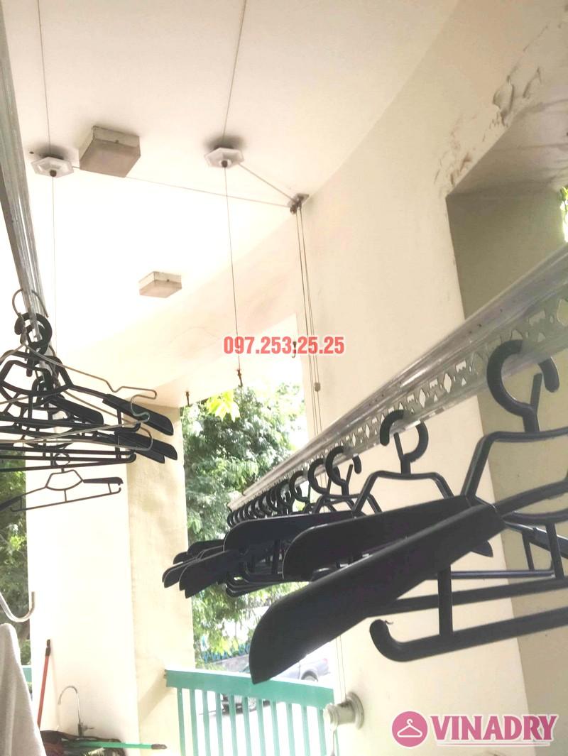 Thay dây cáp giàn phơi giá rẻ nhà chị Hồng, tòa nhà C'land 81 Lê Đức Thọ, Nam Từ Liêm, Hà Nội - 01