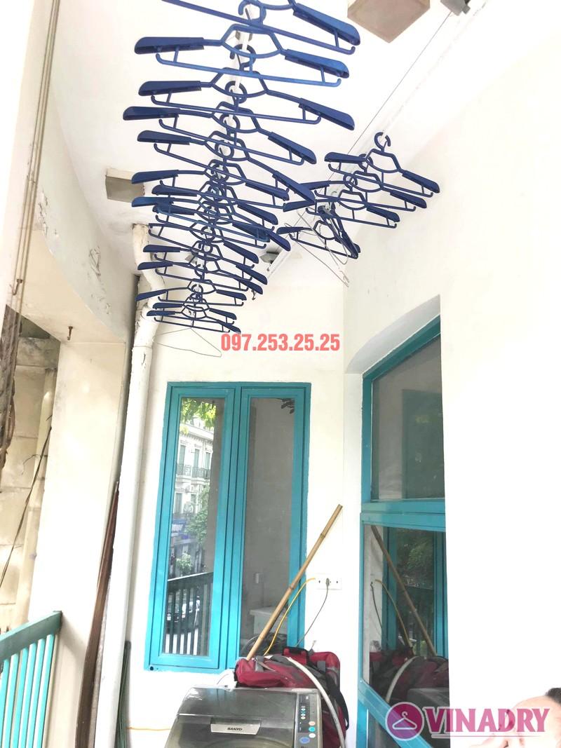 Thay dây cáp giàn phơi giá rẻ nhà chị Hồng, tòa nhà C'land 81 Lê Đức Thọ, Nam Từ Liêm, Hà Nội - 03