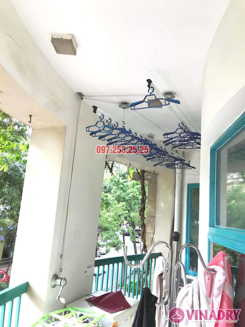 Thay dây cáp giàn phơi giá rẻ nhà chị Hồng, tòa nhà C'land 81 Lê Đức Thọ, Nam Từ Liêm, Hà Nội - 04