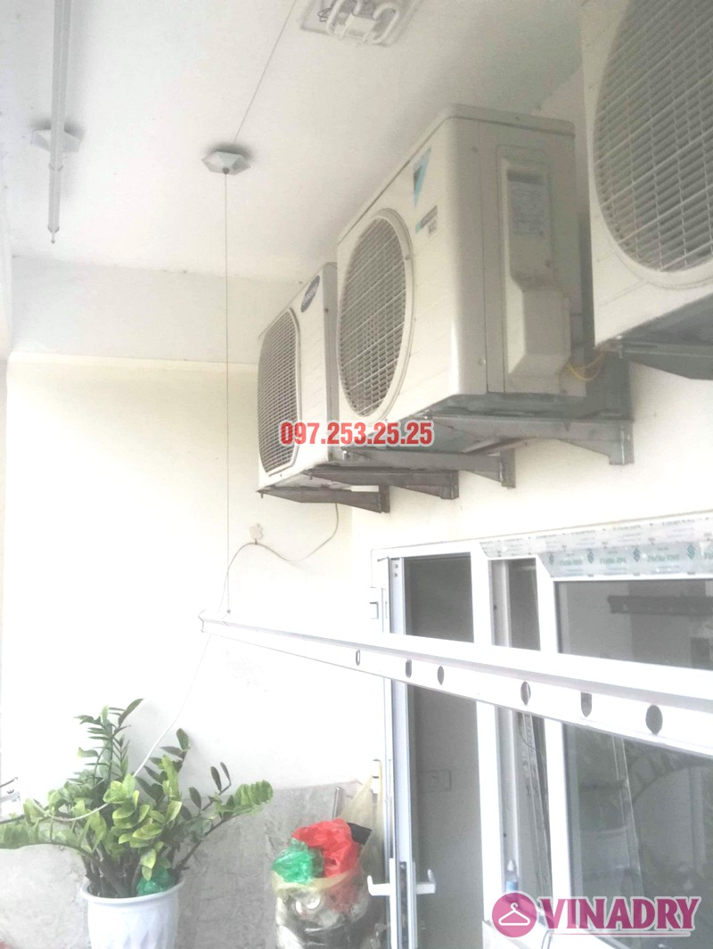 Sửa giàn phơi thông minh Hai Bà Trưng nhà anh Nhật, chung cư 250 Minh Khai - 01