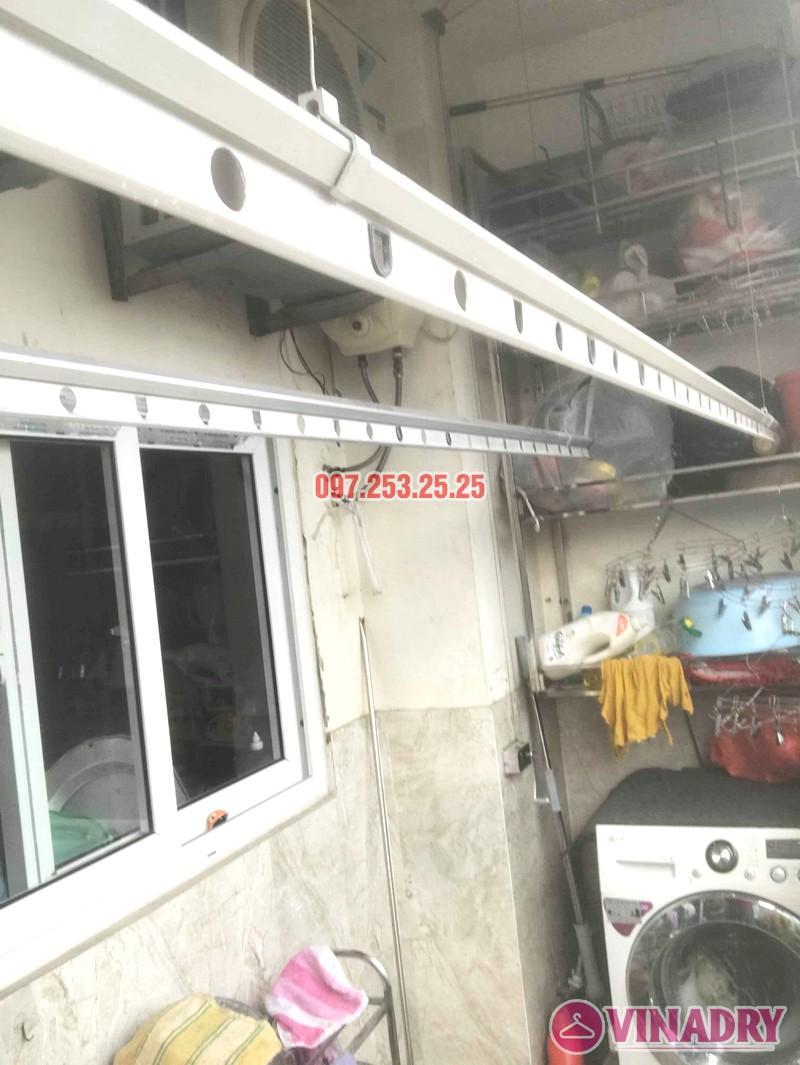 Sửa giàn phơi thông minh Hai Bà Trưng nhà anh Nhật, chung cư 250 Minh Khai - 03