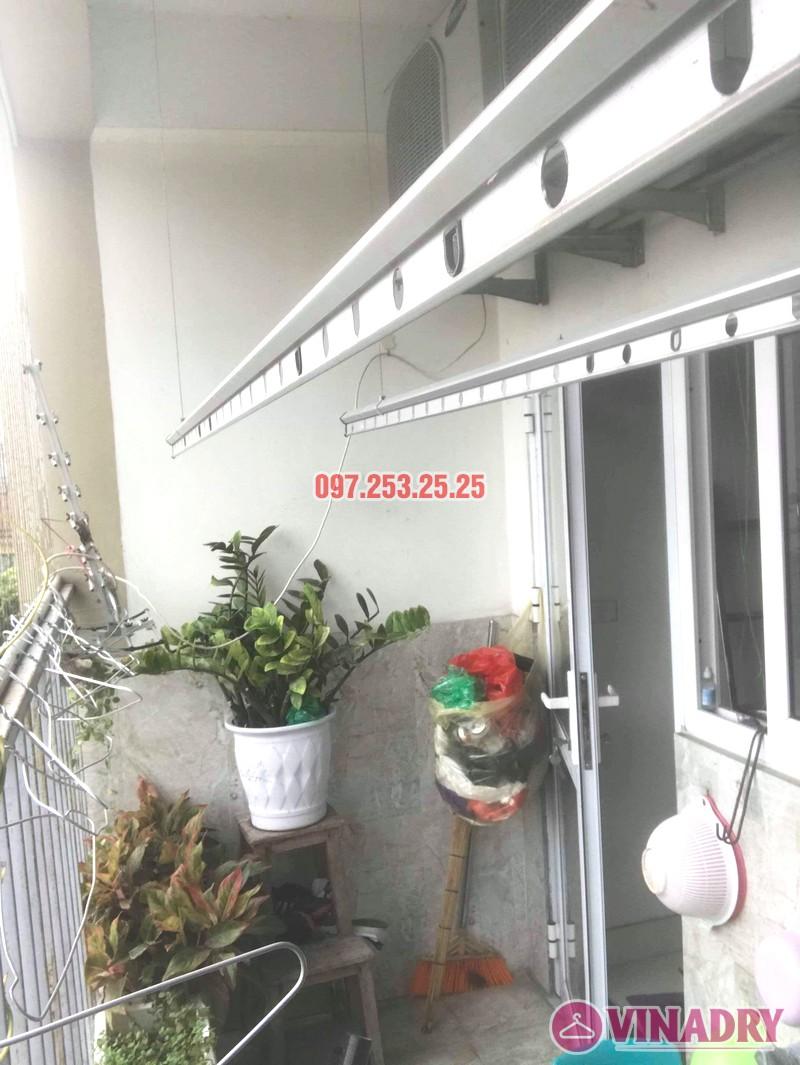 Sửa giàn phơi thông minh Hai Bà Trưng nhà anh Nhật, chung cư 250 Minh Khai - 04