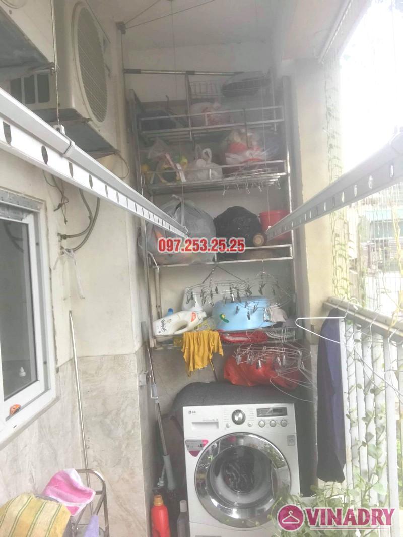 Sửa giàn phơi thông minh Hai Bà Trưng nhà anh Nhật, chung cư 250 Minh Khai - 05
