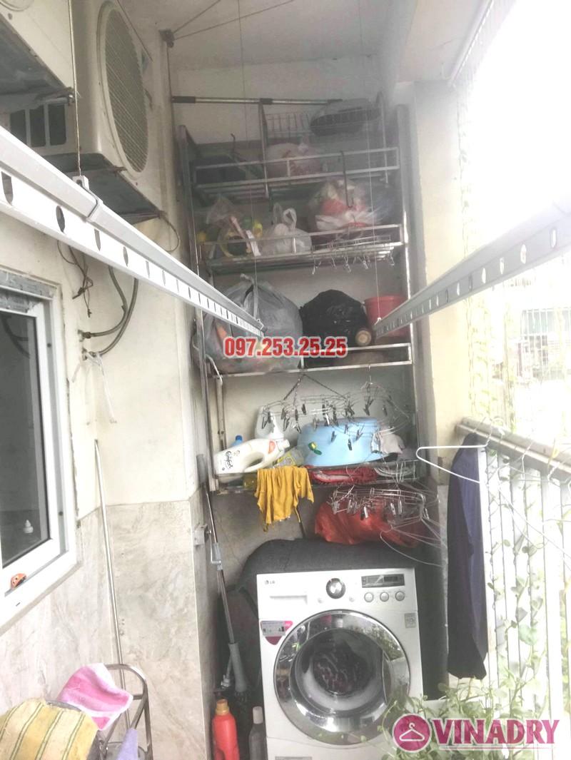 Sửa giàn phơi thông minh Hai Bà Trưng nhà anh Nhật, chung cư 250 Minh Khai - 07