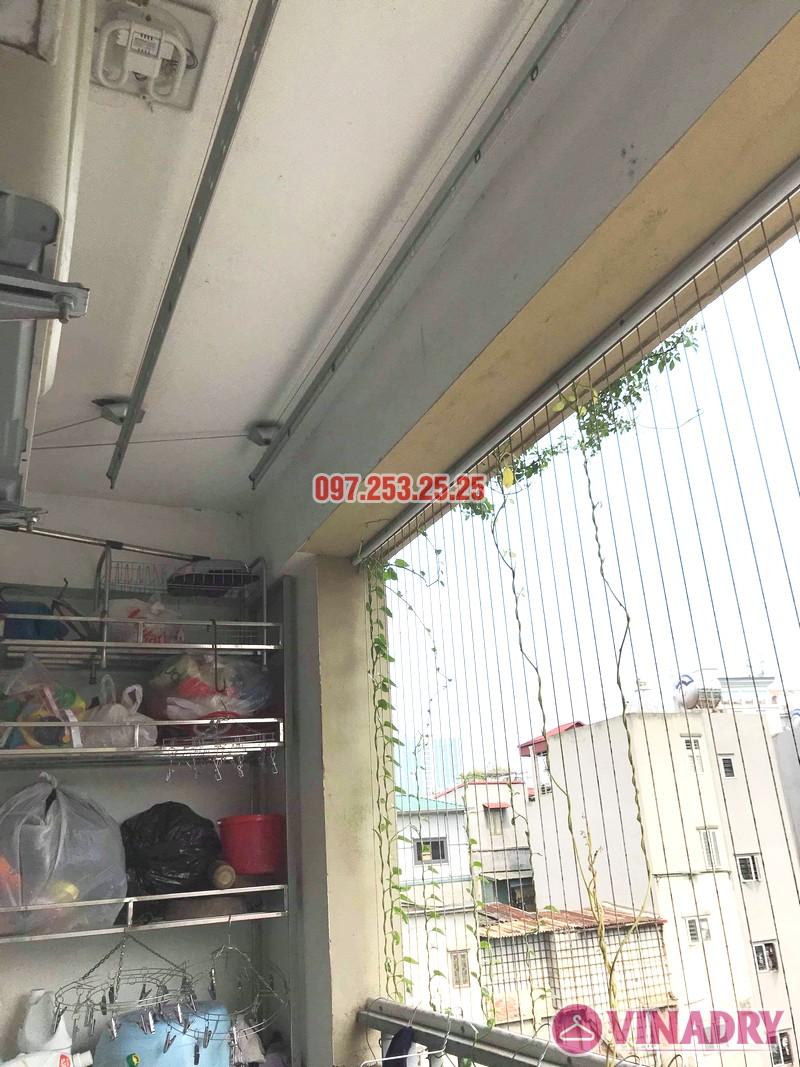 Sửa giàn phơi thông minh Hai Bà Trưng nhà anh Nhật, chung cư 250 Minh Khai - 08