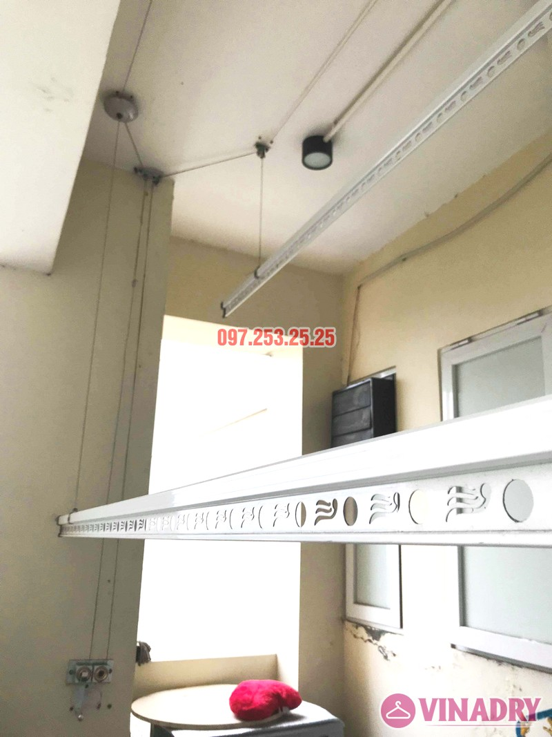 Sửa giàn phơi giá rẻ tại Tây Hồ, chung cư  E1 Ciputra Nguyễn Hoàng Tôn nhà chị Hợi - 01