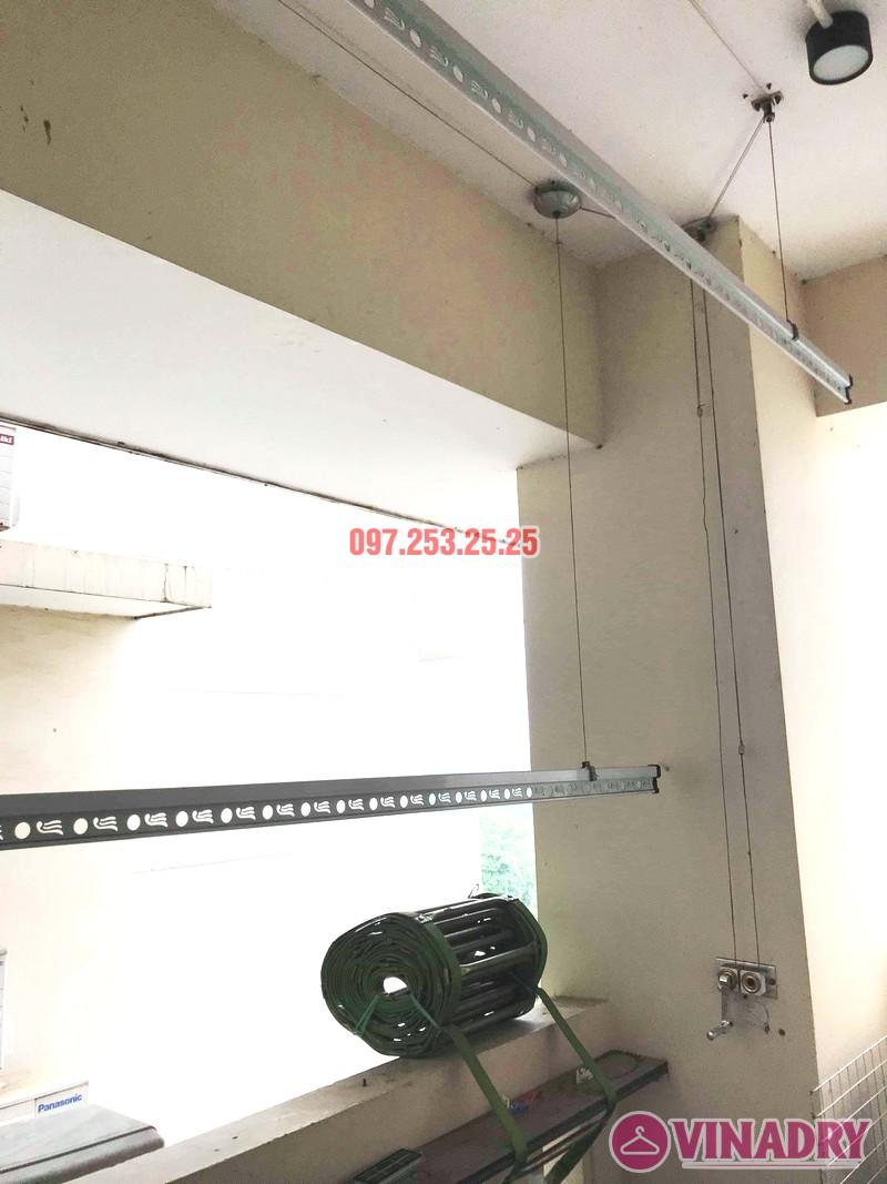 Sửa giàn phơi giá rẻ tại Tây Hồ, chung cư  E1 Ciputra Nguyễn Hoàng Tôn nhà chị Hợi - 02