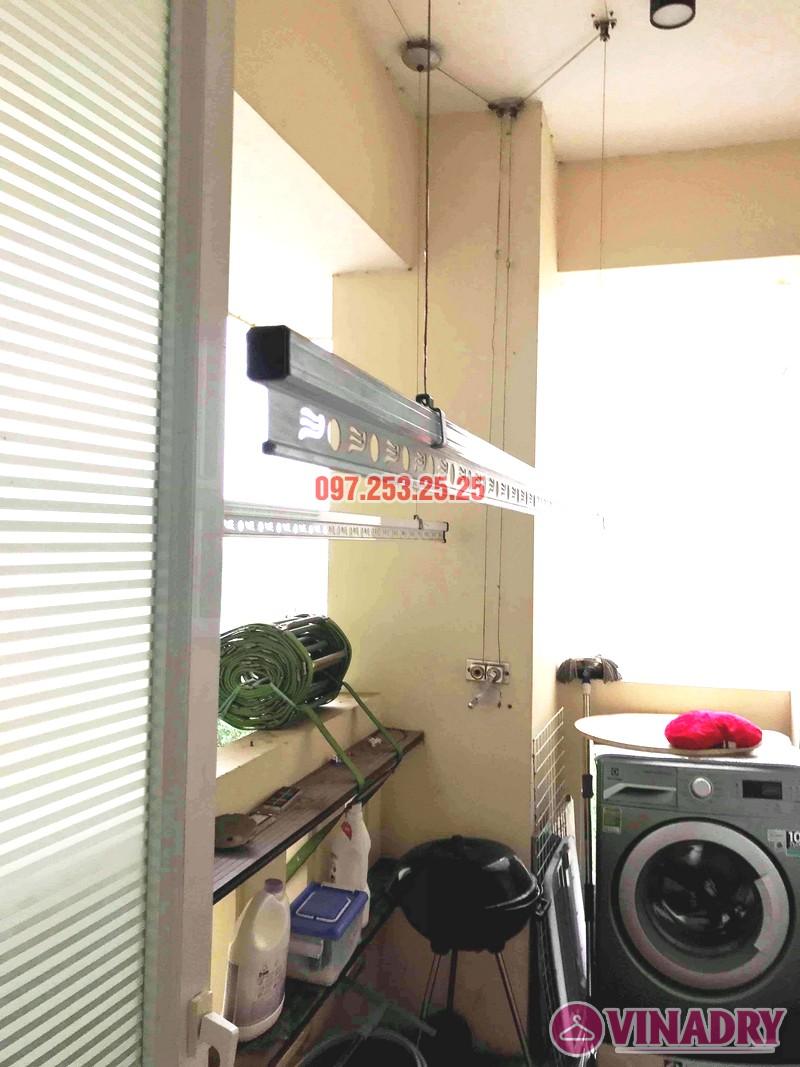 Sửa giàn phơi giá rẻ tại Tây Hồ, chung cư  E1 Ciputra Nguyễn Hoàng Tôn nhà chị Hợi - 03
