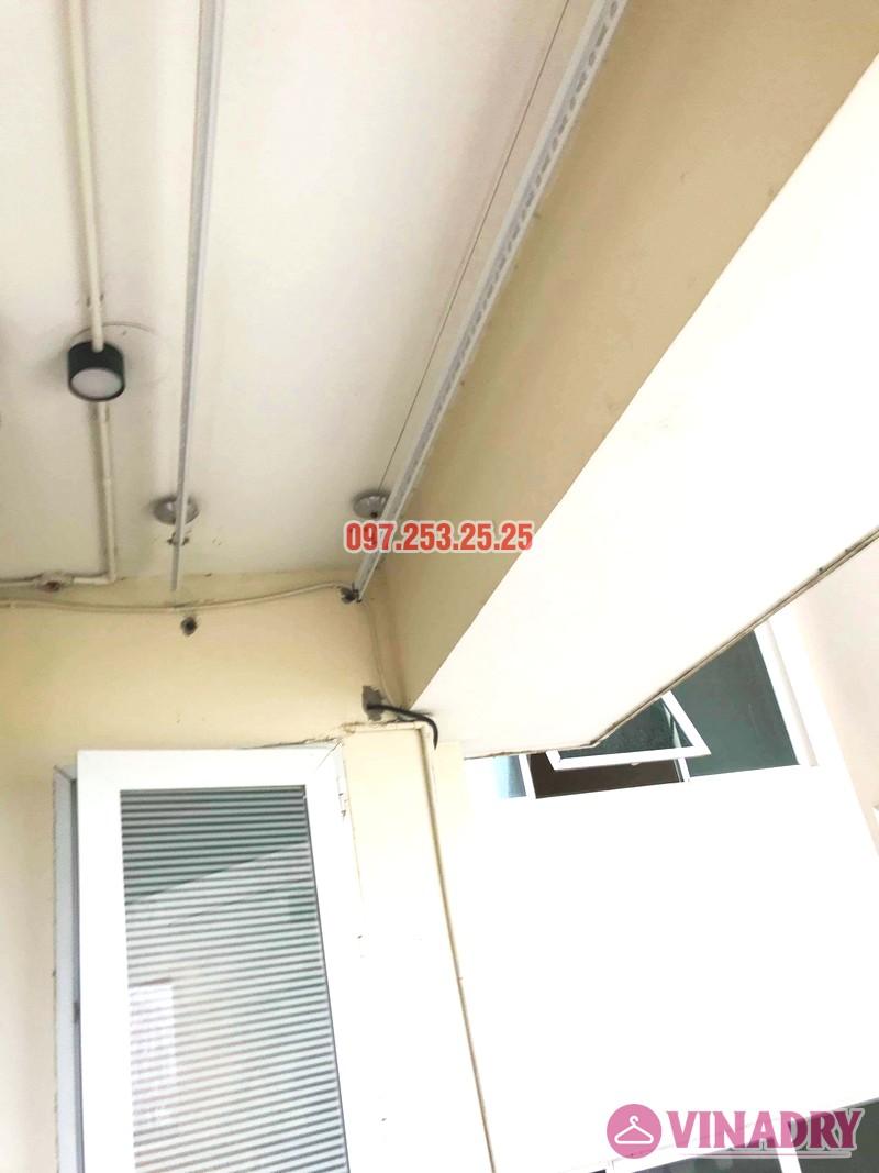 Sửa giàn phơi giá rẻ tại Tây Hồ, chung cư  E1 Ciputra Nguyễn Hoàng Tôn nhà chị Hợi - 04