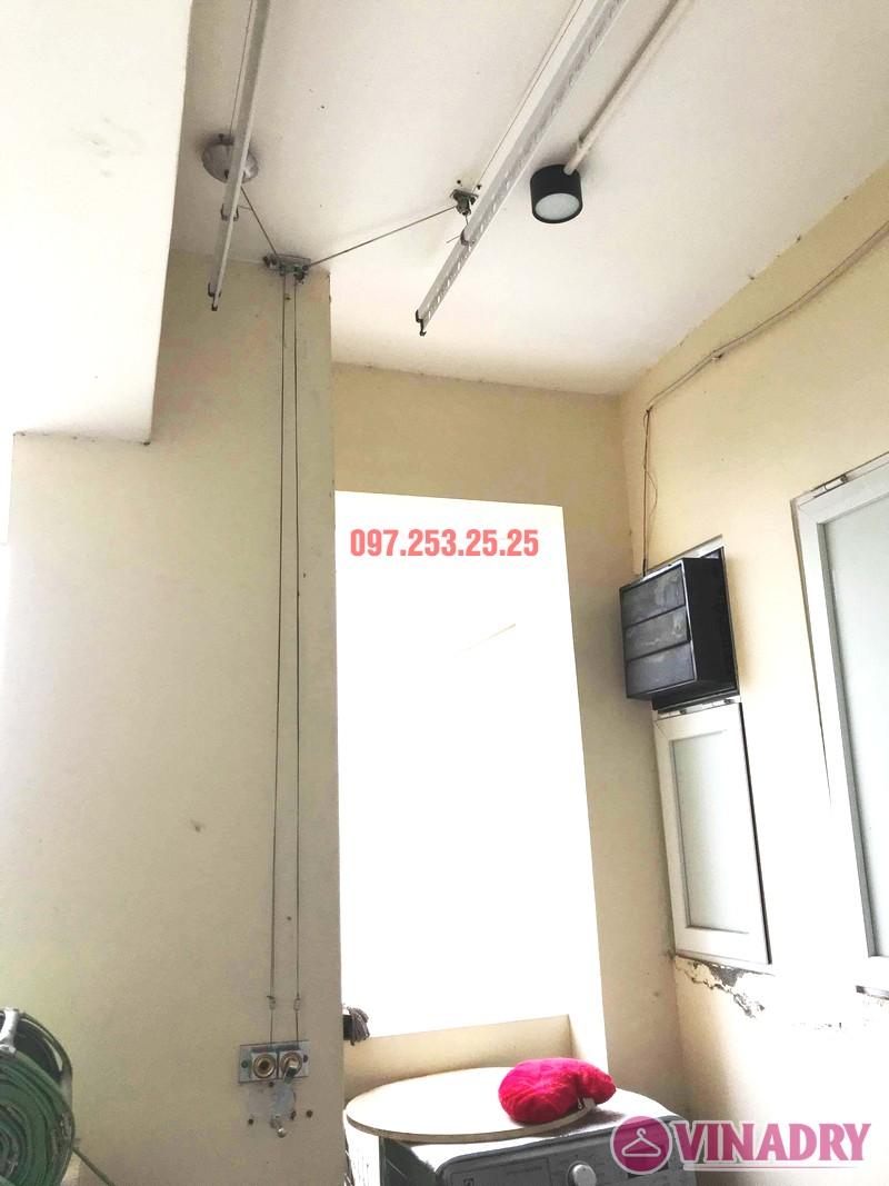 Sửa giàn phơi giá rẻ tại Tây Hồ, chung cư  E1 Ciputra Nguyễn Hoàng Tôn nhà chị Hợi - 05