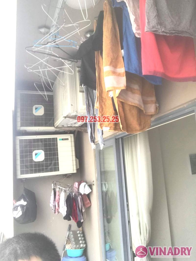 Sửa giàn phơi thông minh Đống Đa nhà anh Hữu, chung cư 102 Trường Trinh - 01