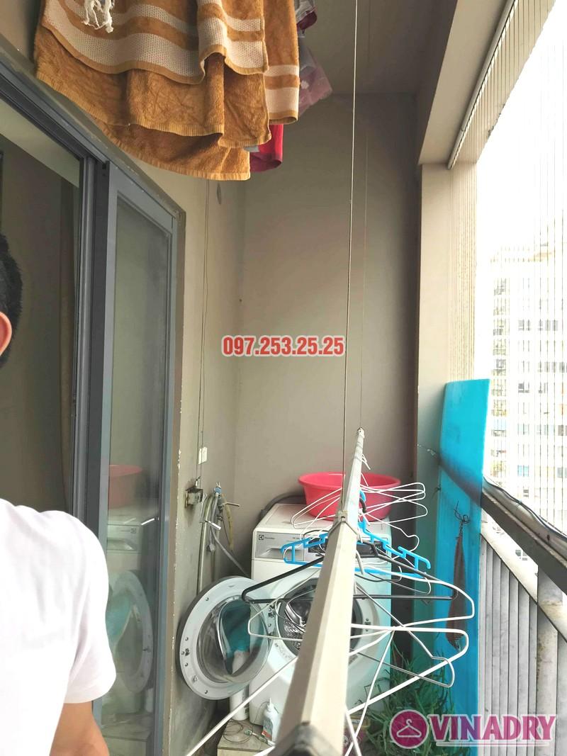 Sửa giàn phơi thông minh Đống Đa nhà anh Hữu, chung cư 102 Trường Trinh - 05