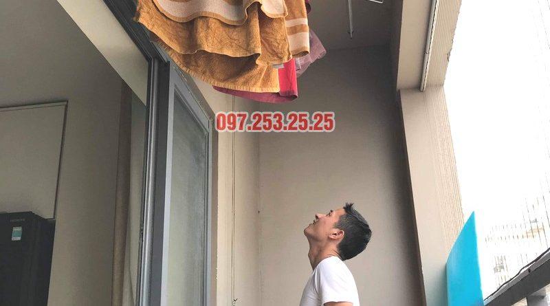 Sửa giàn phơi thông minh Đống Đa nhà anh Hữu, chung cư 102 Trường Trinh - 06
