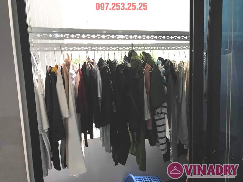 Sửa giàn phơi đồ thông minh tại chung cư Goldmark City, 136 Hồ Tùng Mậu, Nam Từ Liêm, Hà Nội - 01