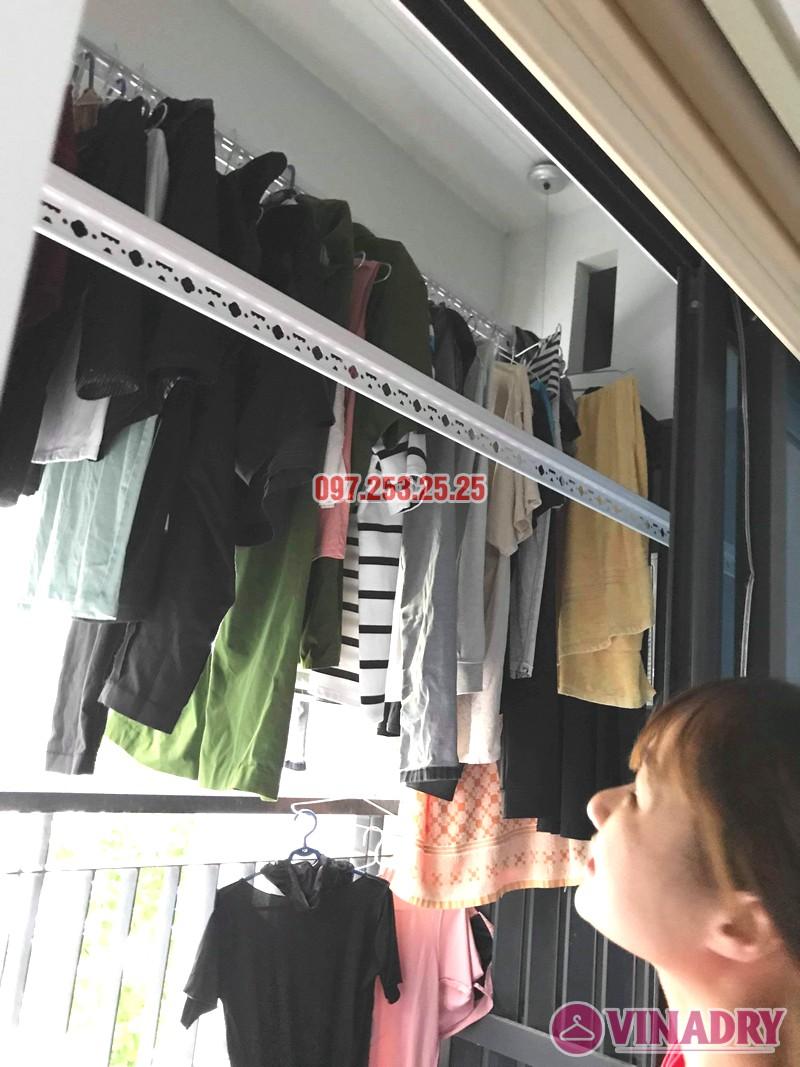 Sửa giàn phơi đồ thông minh tại chung cư Goldmark City, 136 Hồ Tùng Mậu, Nam Từ Liêm, Hà Nội - 02