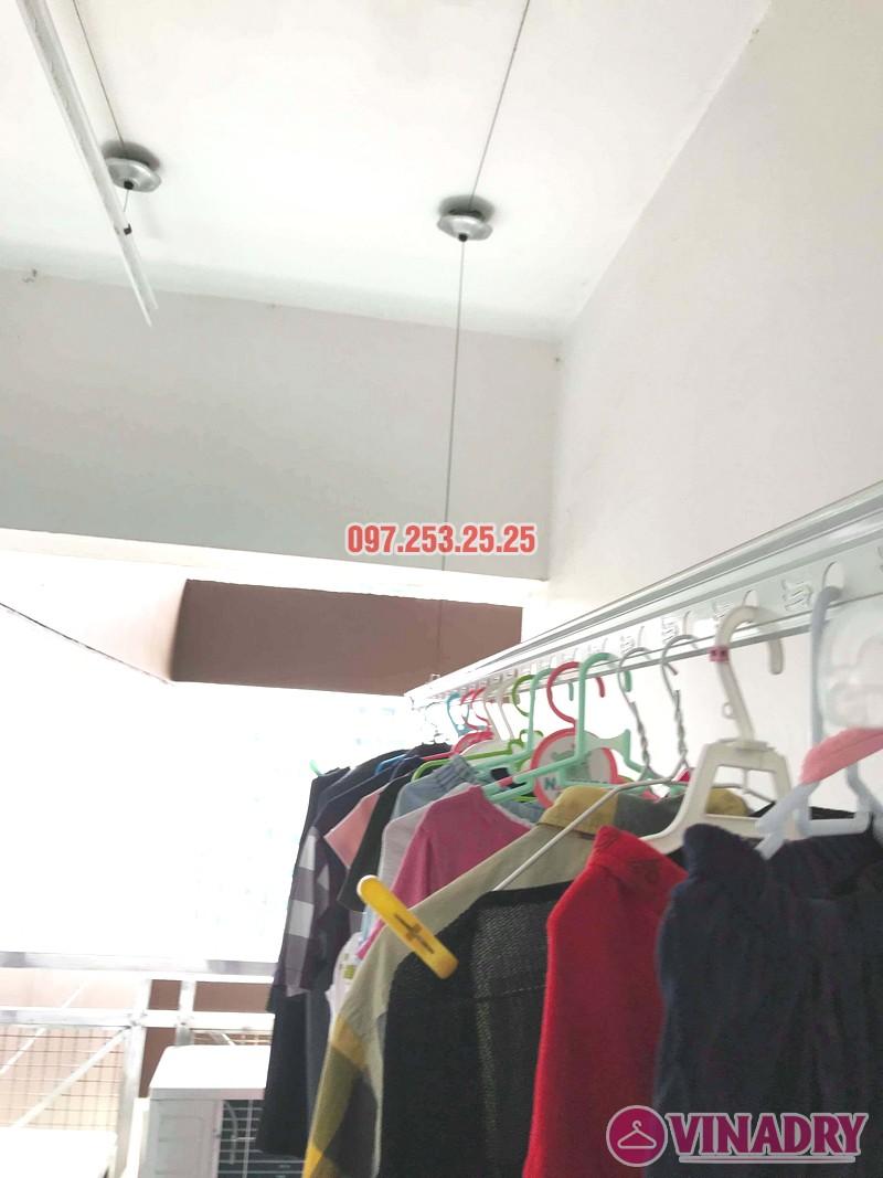 Sửa giàn phơi tại Cầu giấy nhà chị Loan, tòa 29T1, KĐT Trung Hòa Nhân Chính - 01