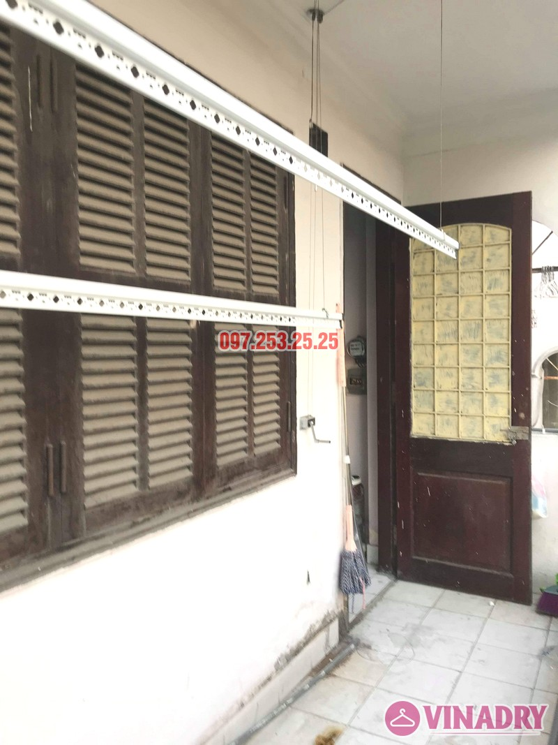 Sửa giàn phơi thông minh tại Hai Bà Trưng nhà chị Vệ, ngõ Thanh Lương 2, Kim Ngưu - 01