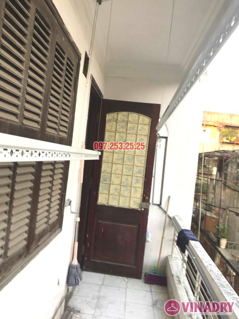 Sửa giàn phơi thông minh tại Hai Bà Trưng nhà chị Vệ, ngõ Thanh Lương 2, Kim Ngưu - 02