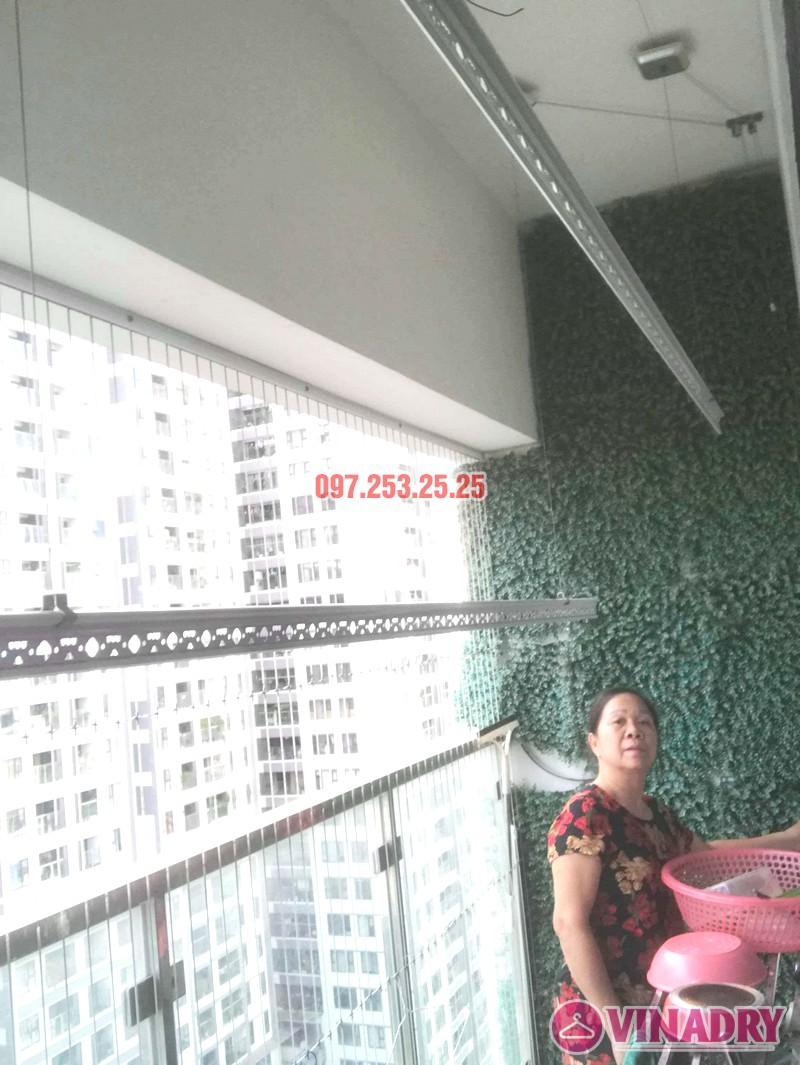Ảnh sửa giàn phơi nhà chị Quế, tòa A, chung cư imperia Garden, Thanh Xuân, Hà Nội - 04
