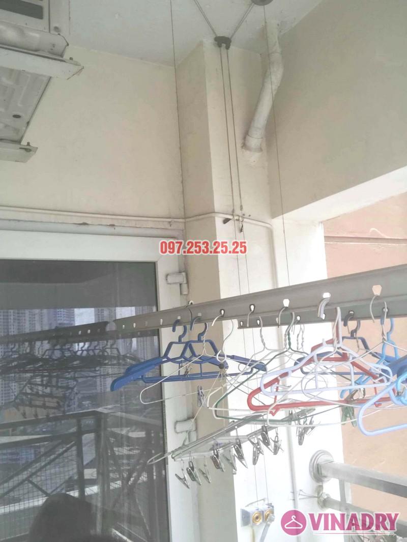 Sửa giàn phơi, thay bộ tời nhà anh kiện, tòa 29T1 KĐT Trung Hòa Nhân Chính - 01
