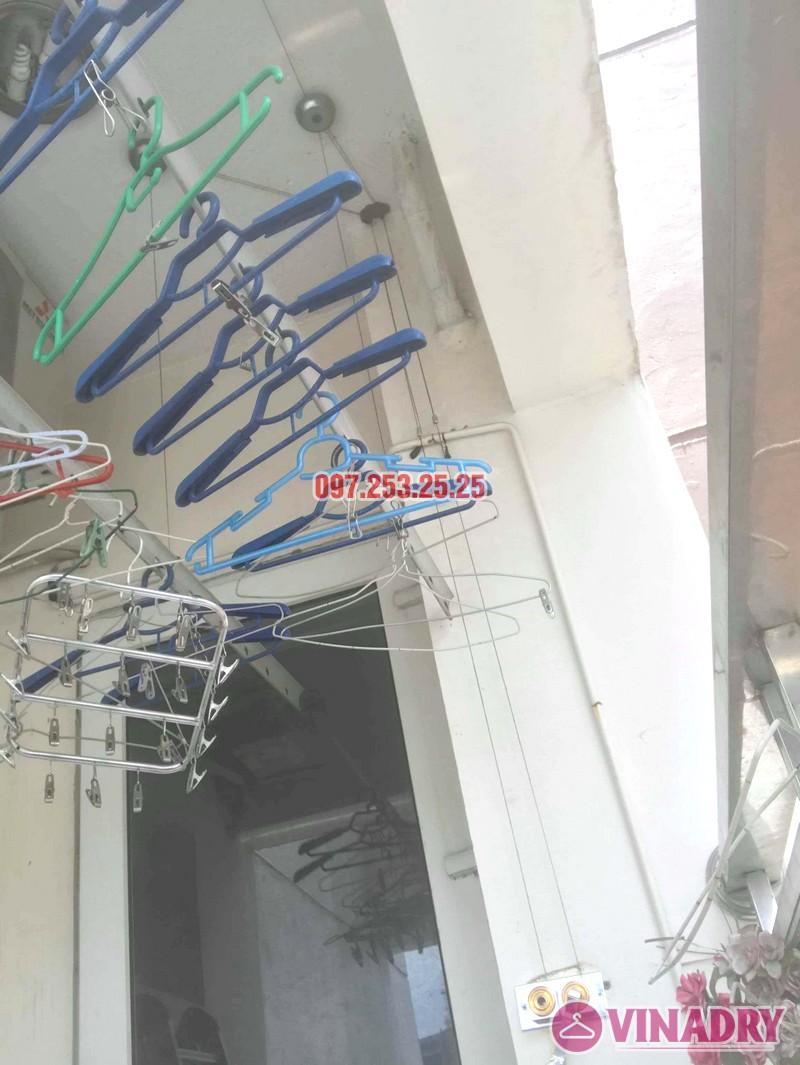 Sửa giàn phơi, thay bộ tời nhà anh kiện, tòa 29T1 KĐT Trung Hòa Nhân Chính - 02