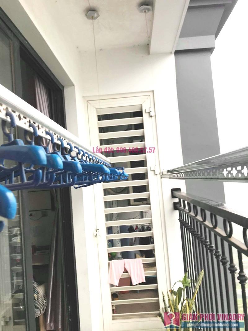 Sửa giàn phơi thông minh giá rẻ tại Times City nhà chị Liễu, tòa T8 - 05