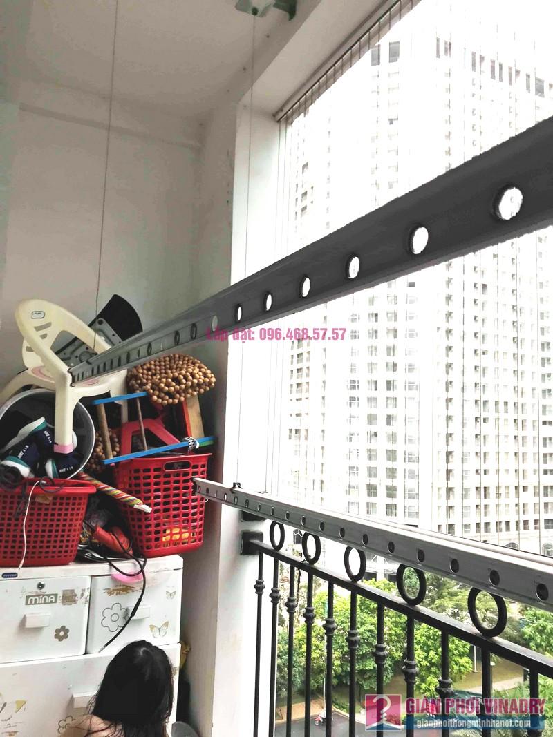 Sửa giàn phơi Times City: thay dây cáp giá rẻ nhà anh Hùng, tòa T9 - 07
