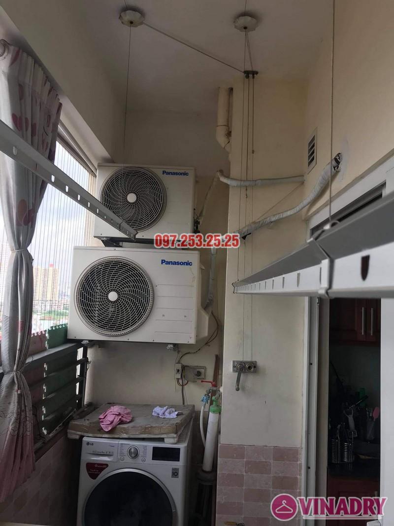 Sửa giàn phơi thông minh tại Hoàng Mai nhà anh Ba, chung cư Nam Đô Complex - 04