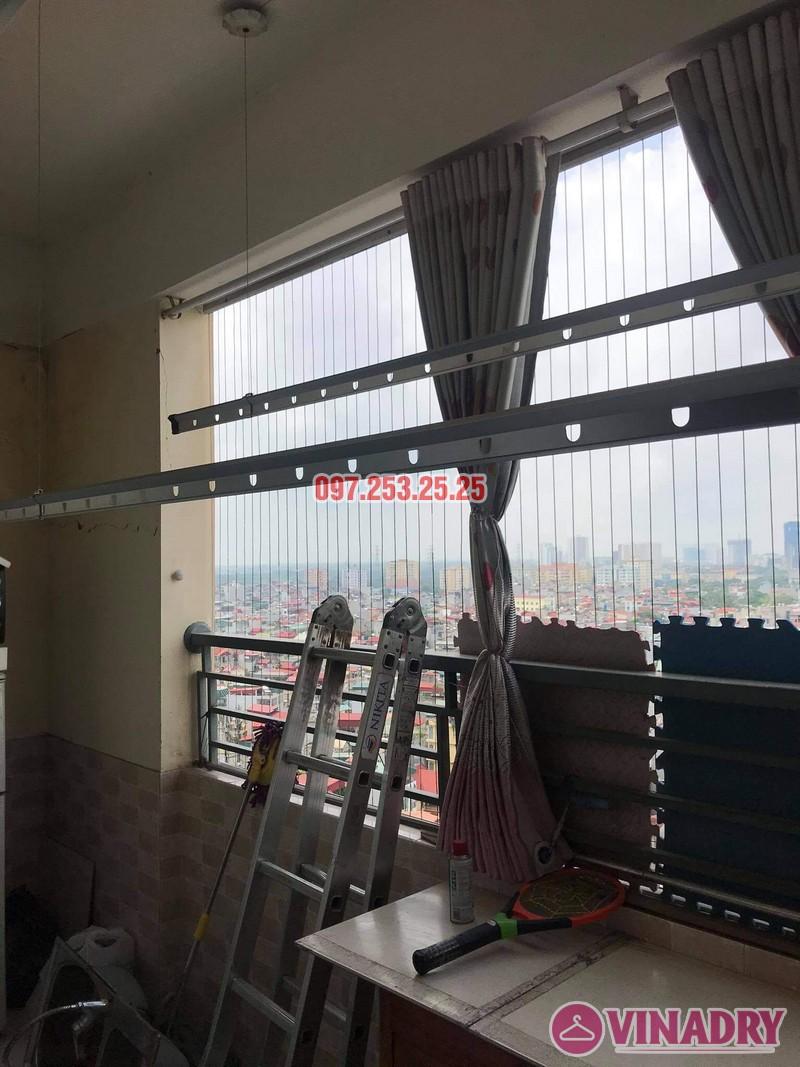 Sửa giàn phơi thông minh tại Hoàng Mai nhà anh Ba, chung cư Nam Đô Complex - 06