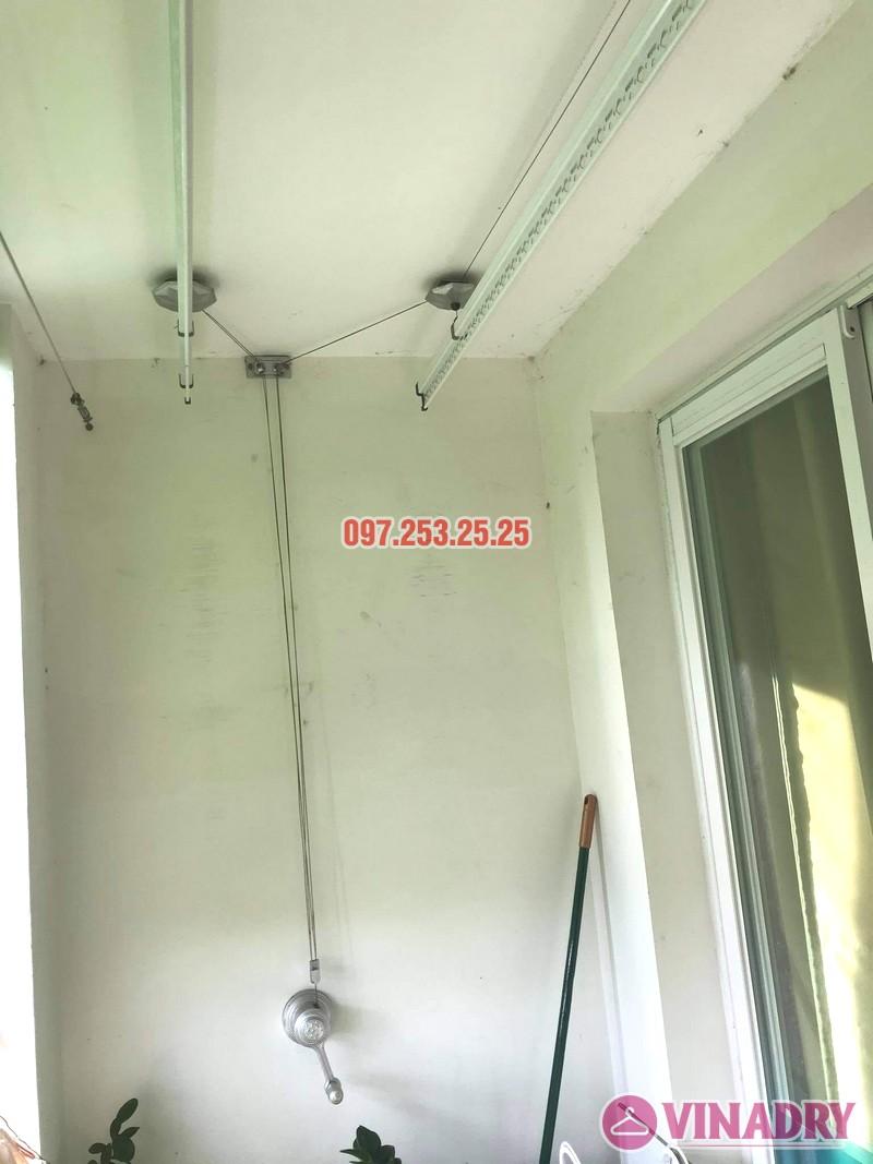 sửa giàn phơi thông minh Hai Bà Trưng nhà chị Lệ, chung cư 109 Trương Định - 03