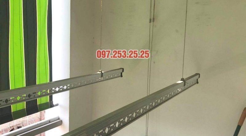 sửa giàn phơi thông minh Hai Bà Trưng nhà chị Lệ, chung cư 109 Trương Định - 05