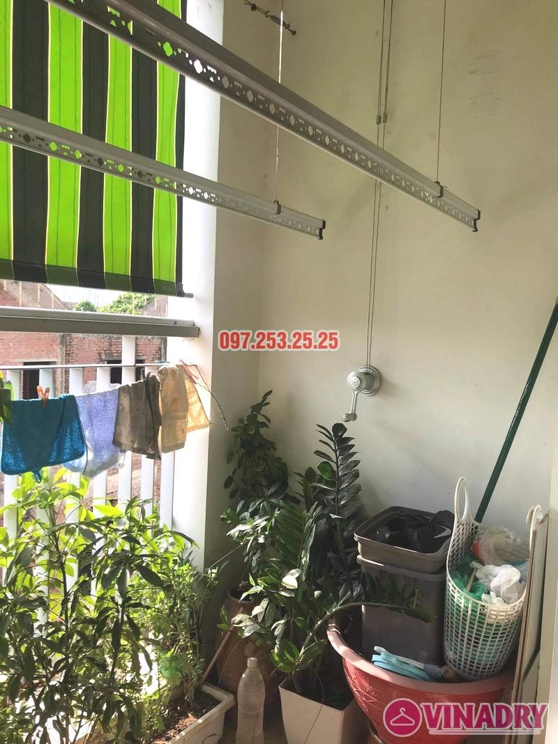 sửa giàn phơi thông minh Hai Bà Trưng nhà chị Lệ, chung cư 109 Trương Định - 06