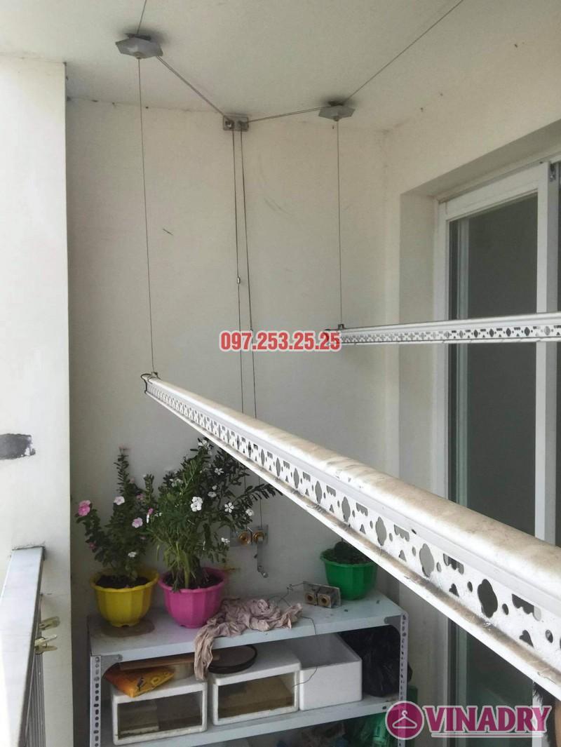 Sửa giàn phơi Hai Bà Trưng tại nhà anh Hà, chung cư Trương Định complex: thay bộ tời và dây cáp - 07