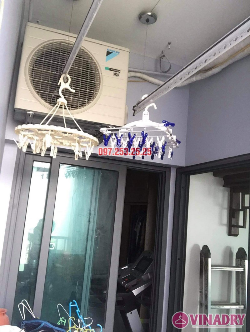 Sửa giàn phơi thông minh tại KĐT Gamuda nhà chị Hòa, tòa The Two Residence - 03